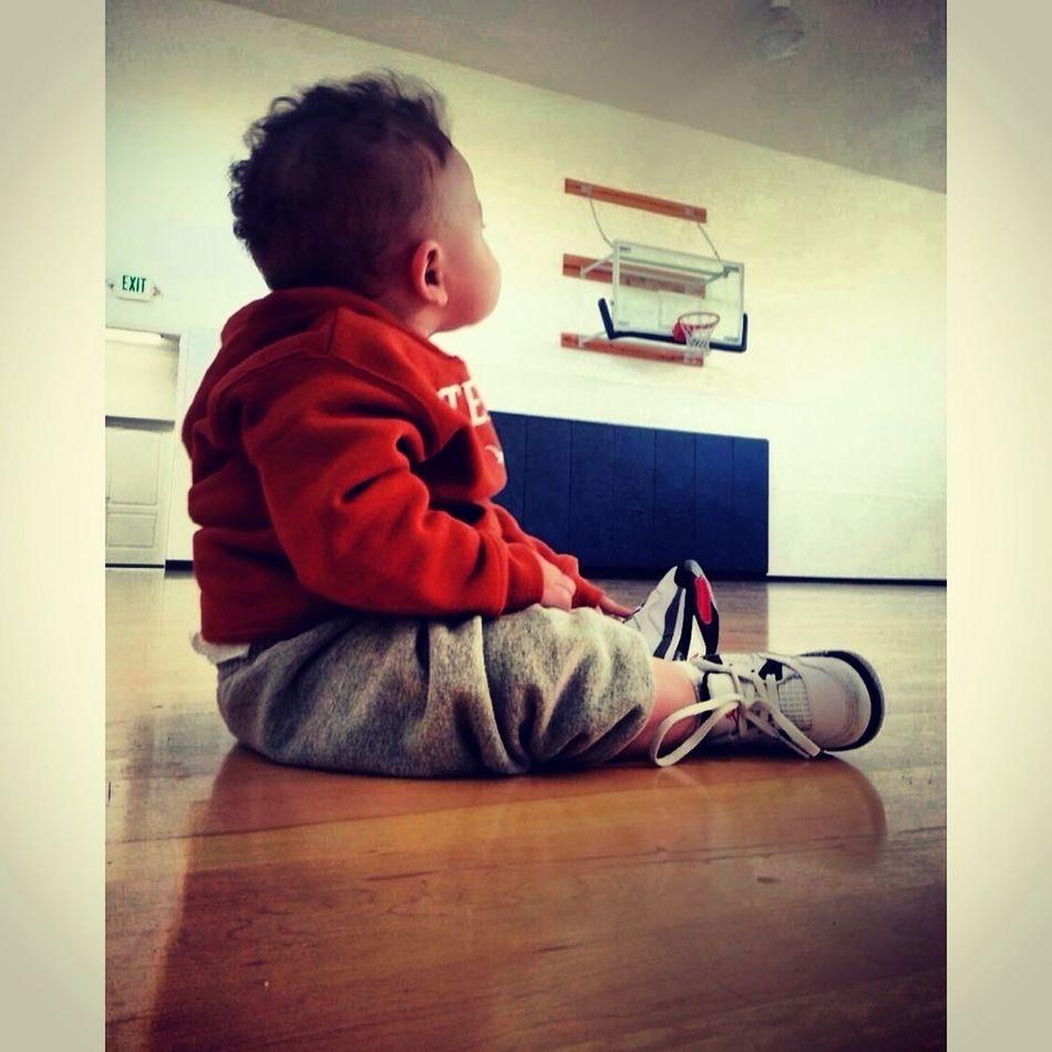 Nephew dreaming already