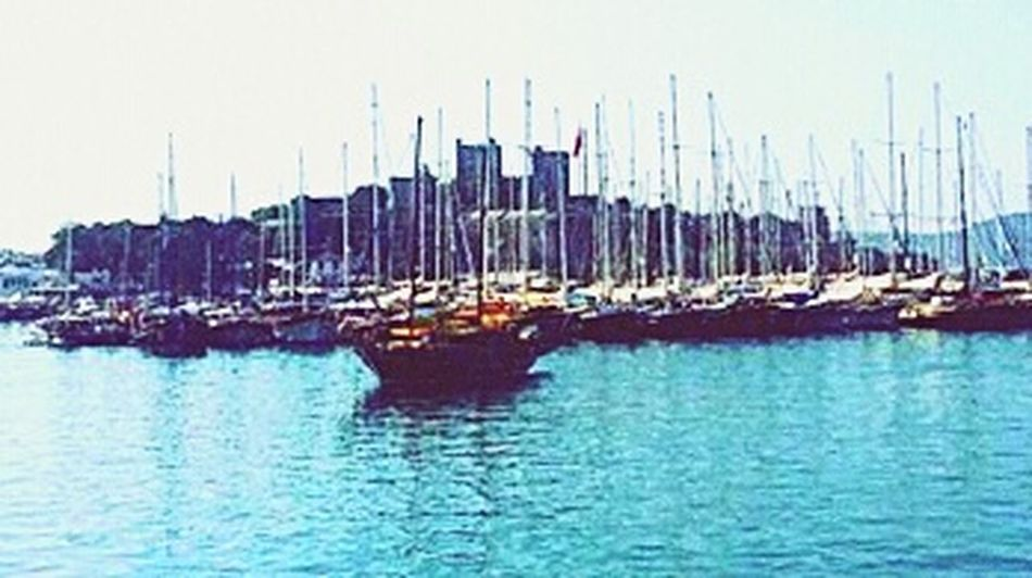 The Castle Bodrum Relaxing Summer Lifestyles Enjoying Life Sea Blue Happy :)