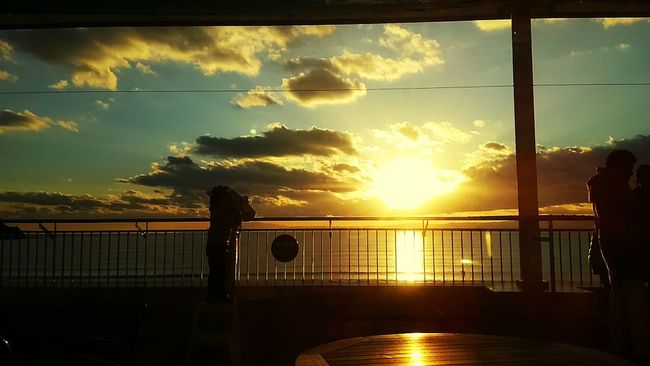 Sunset Sun Sunset_collection Winter Sea Orenge Sky Sky And Clouds Sea And Sky Sea View Wintersun Eye Em Nature Lover Ocean View