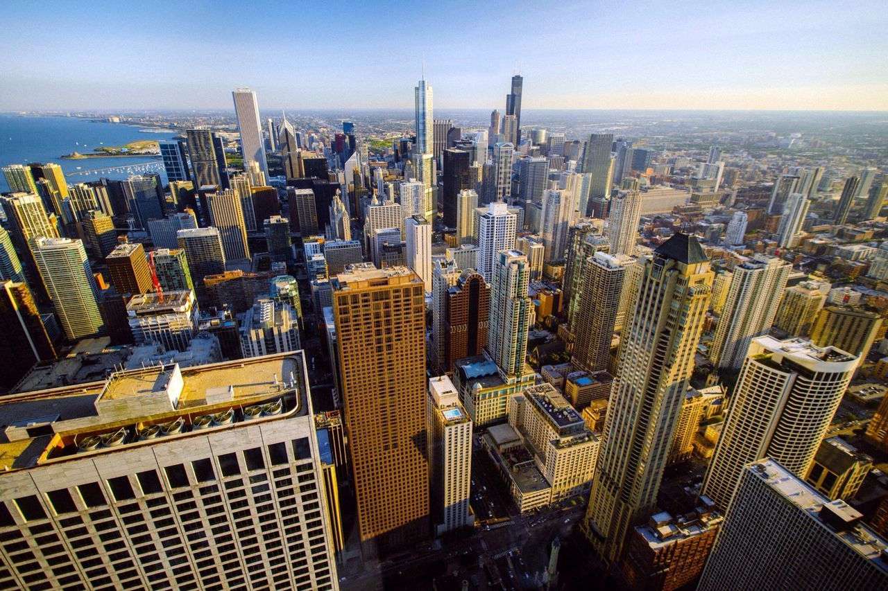 Beautiful stock photos of cityscapes, Architecture, Building Exterior, Built Structure, Chicago
