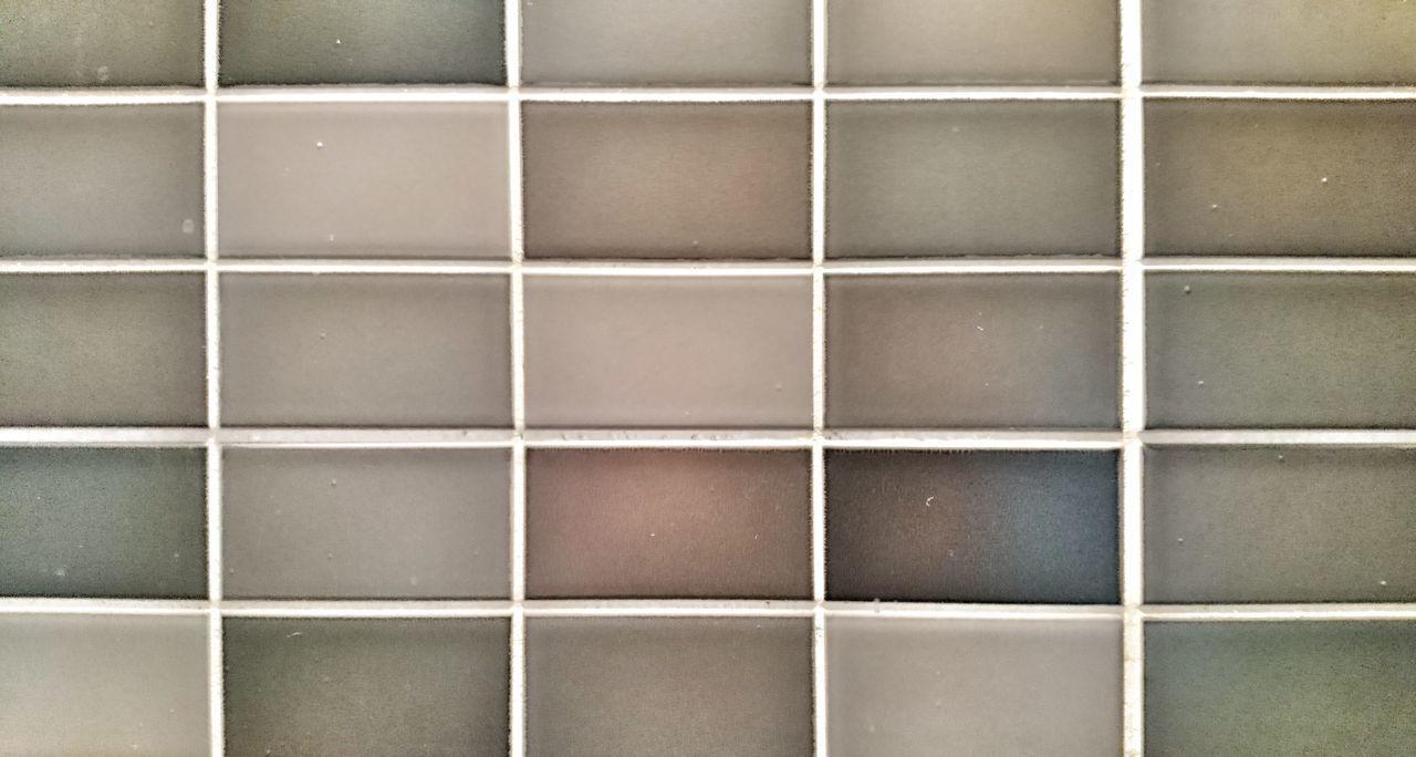 Dark grey tiles close-up. Pattern Indoors  Textured  Close-up Backgrounds Tile Tiles Grey Gray Black White Dark Old Grunge