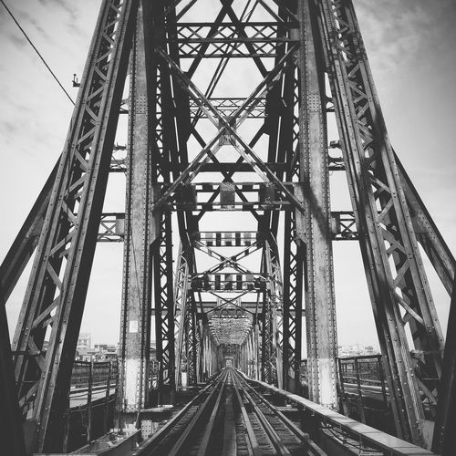 Bridge Details Longbienbridge Bw Ourhanoi OutdoorPhonePhotography Railway Vietnam Summer ☀