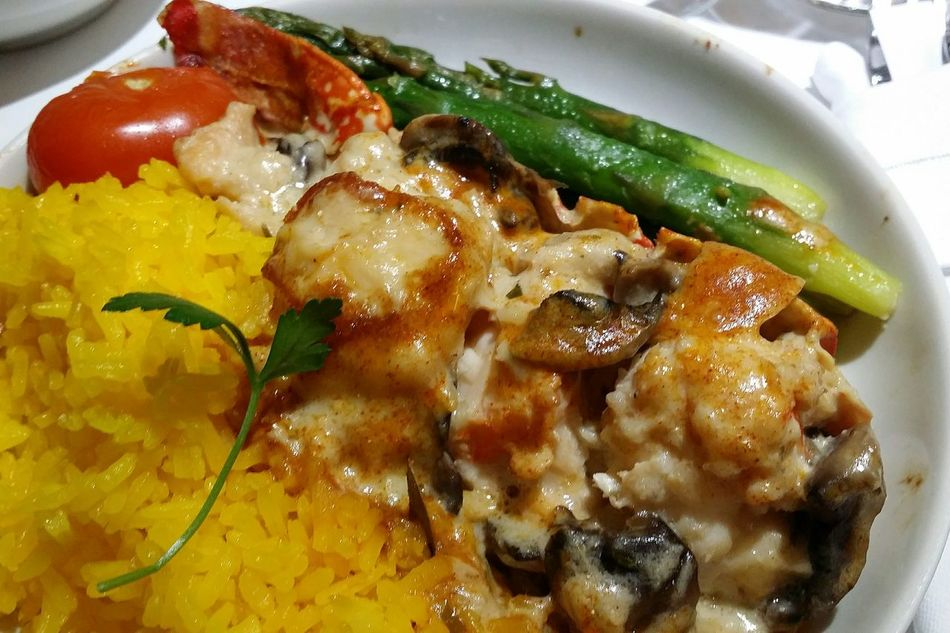 Lobster Thermidor Singapore Airlines Foodphotography Off To Seoul Spring2017