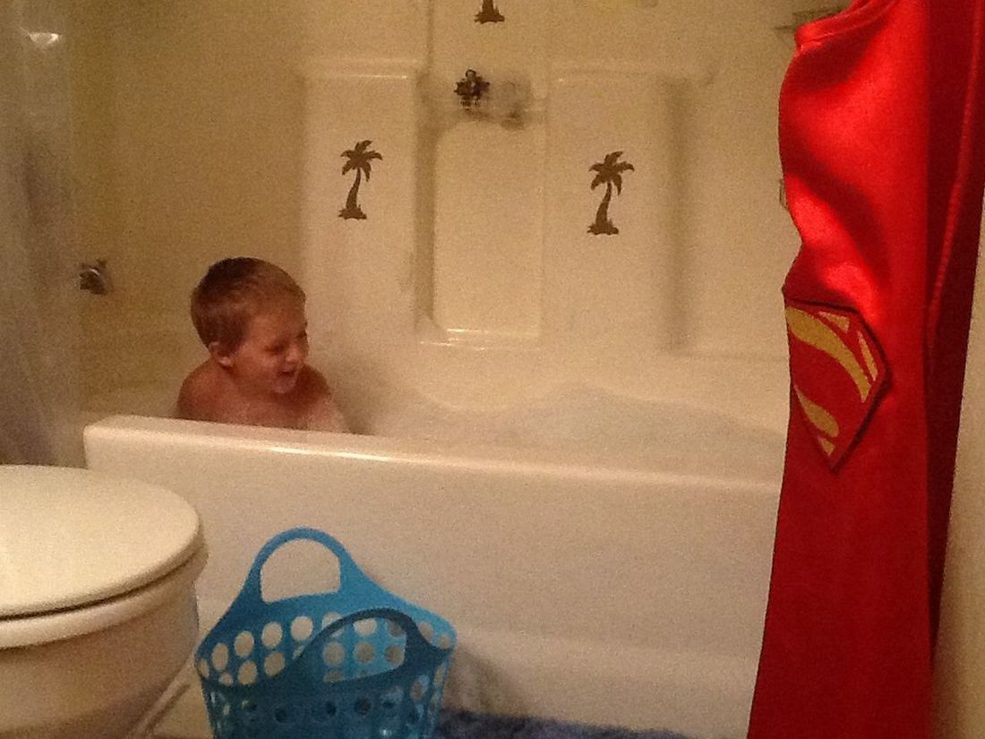 Super heroes need baths too! Love My Grandchildren♥♡ Family Streamzoofamily UniqueCliques