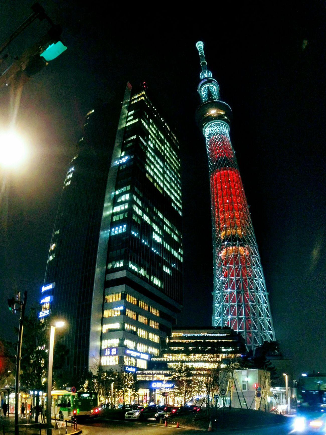 Christmas Illumination Tokyoskytree Light Up クリスマスイルミネーション 東京スカイツリー ライトアップ