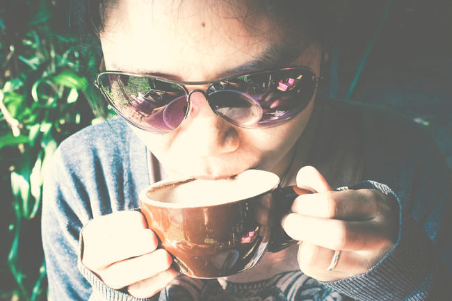 Cup Of Espresso With Woman. Beverage Breakfast Cafe Caffine Close-up Coffee Coffee Cup Day Drink Espresso EyeEm Best Shots Food Freshness Healthy Leisure Activity Lifestyles People Photography Refreshment Taste Woman