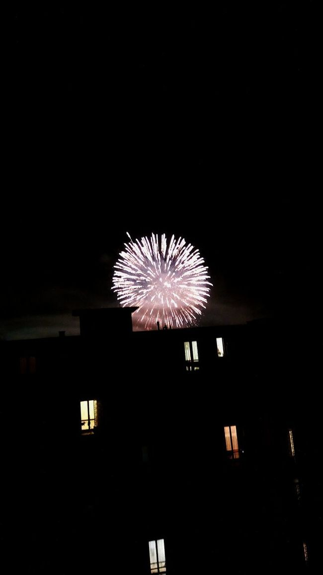 Fireworks Illuminated Firework Display Celebration Exploding Night Dark Motion Firework Sparks Glowing Sky Outdoors Event Light And Shadow Inside Things