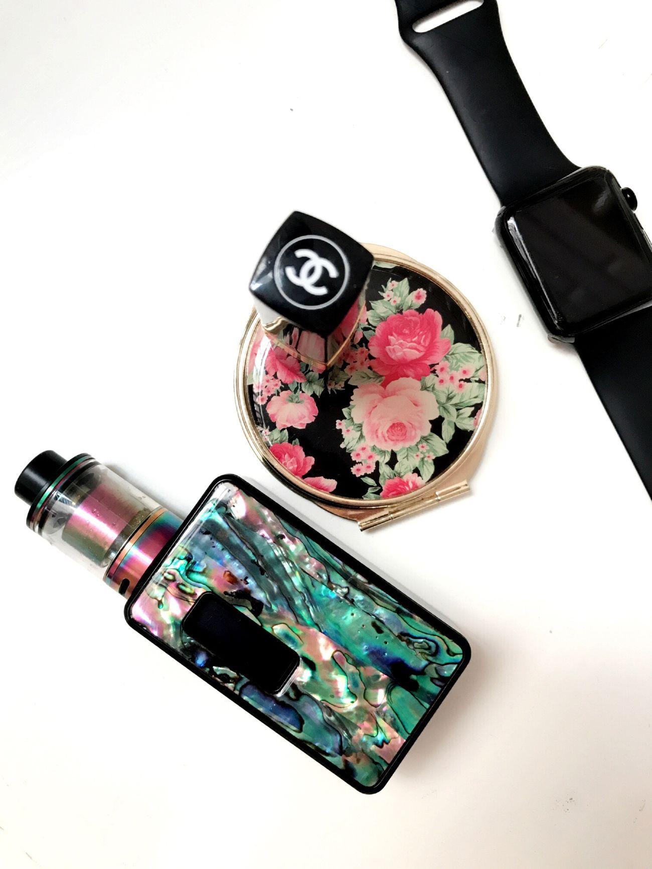 Dna60 White Background Close-up VapeLife Rainbow🌈 Rda Vaporizer  Mod Style Vapeon Vapedaily Friday Setups Lovely Stuff Abalone Epetite