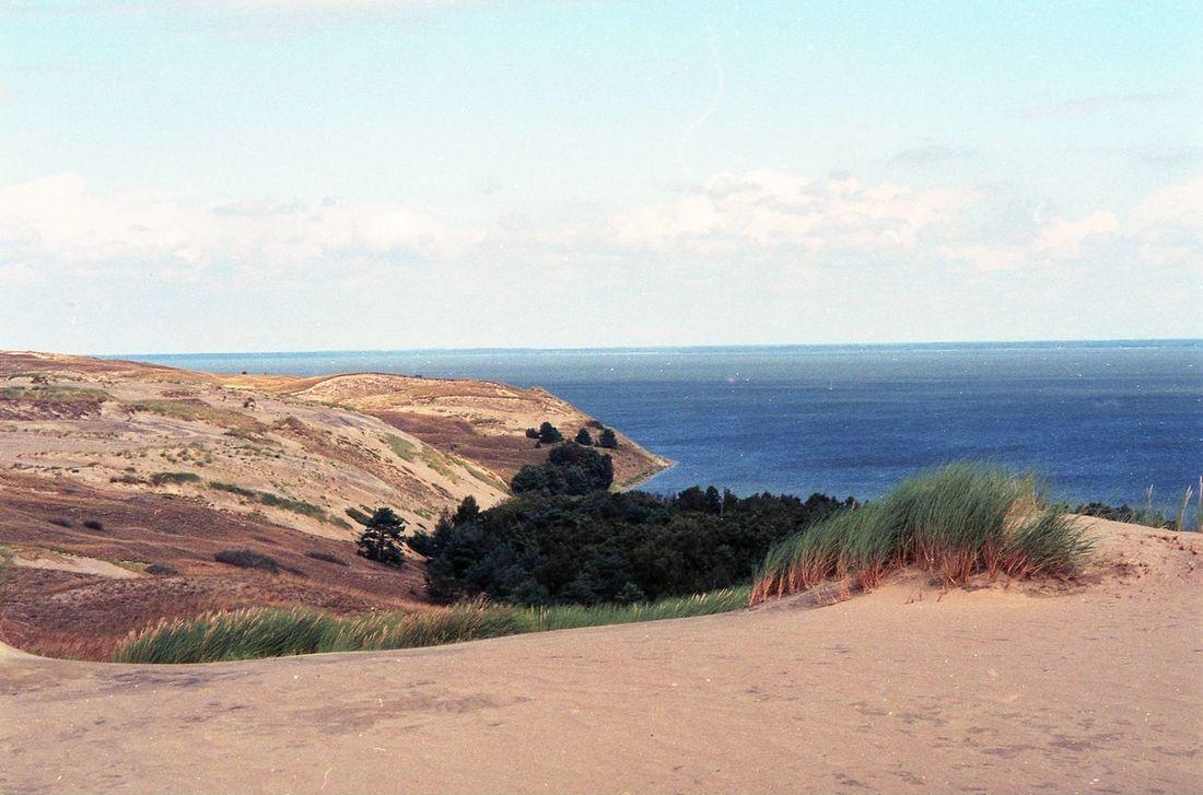 Baltic Sea Curonian Spit Day Dunes Lithuania Nature Neringa Nida Sky Summer