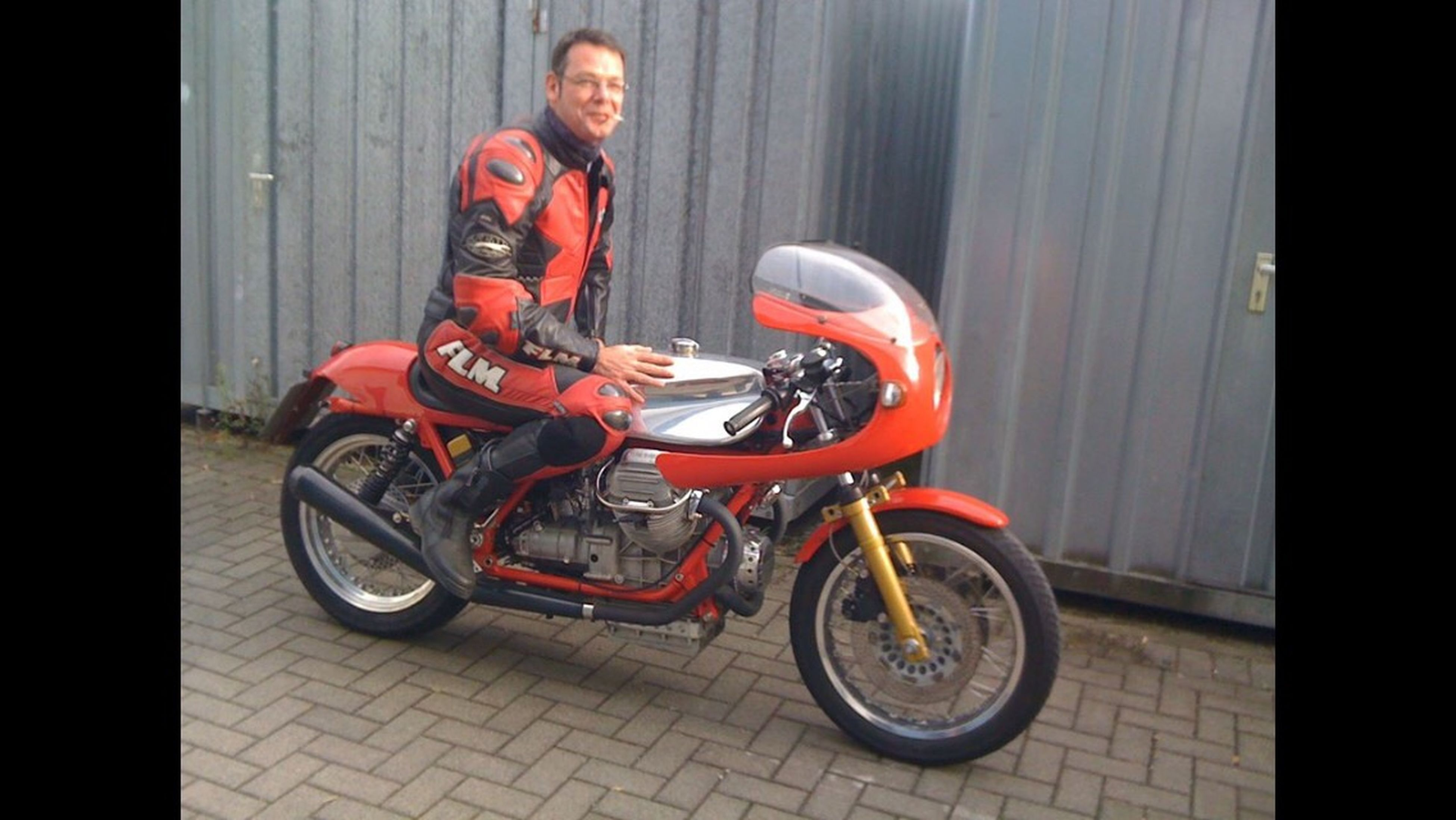 Motorcycles moto guzzi Le Mans