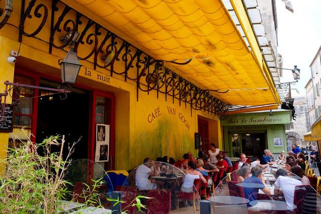 Le Café de nuit (Café Van Gogh) Arles Art Cafe Cafe Van Gogh Cafevangogh Cafevangogh Cafélanuit France Holidays LeCafédenuit Lifestyles Provence Summer Terrace Vangogh Vincent Van Gogh
