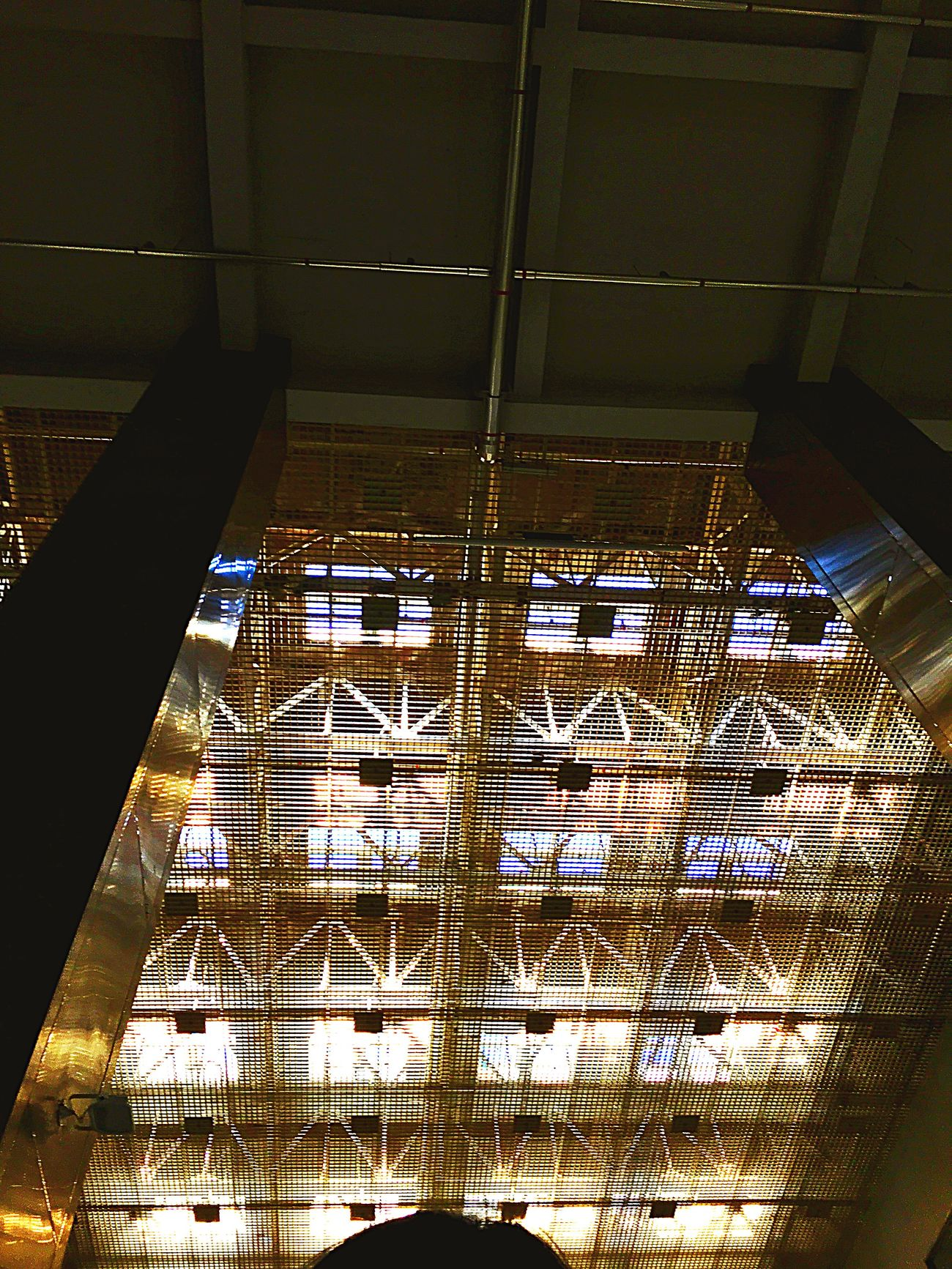 Indoors  Built Structure No People Low Angle View Architecture Illuminated Day