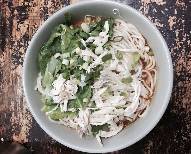 麻醬雞絲麵 Taiwan Taiwanese Food Noodles Taipei Taipei Life Iphone6