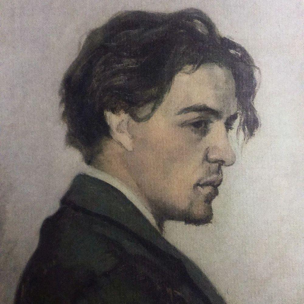 Мой любимый писатель в_молодости Антон_Павлович_Чехов