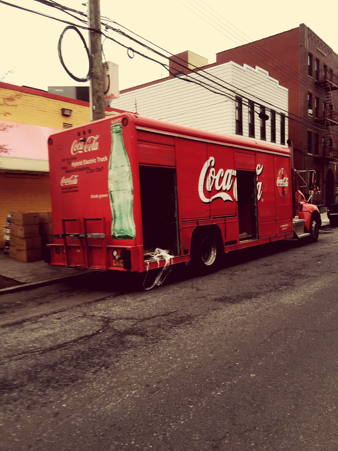 So original Coca-Cola truck