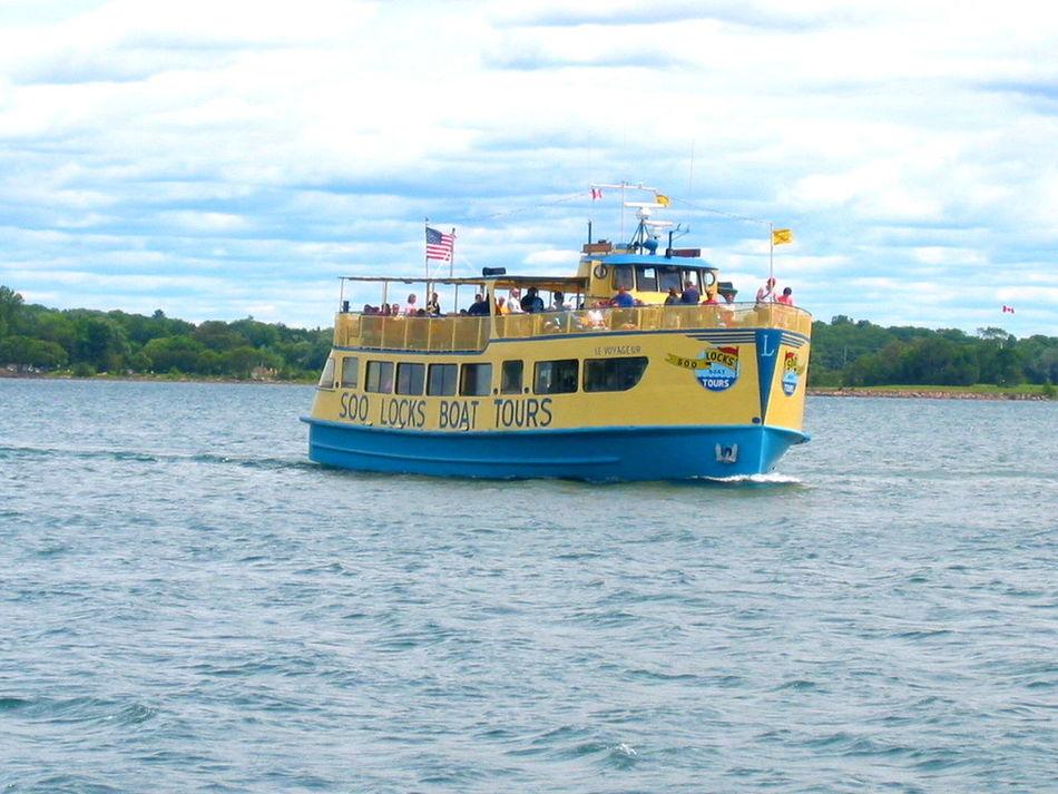 Ferry Michigan Pure Michigan Mich Soo Soolocks Saultstmarie Carferry Boatrides Tourboat