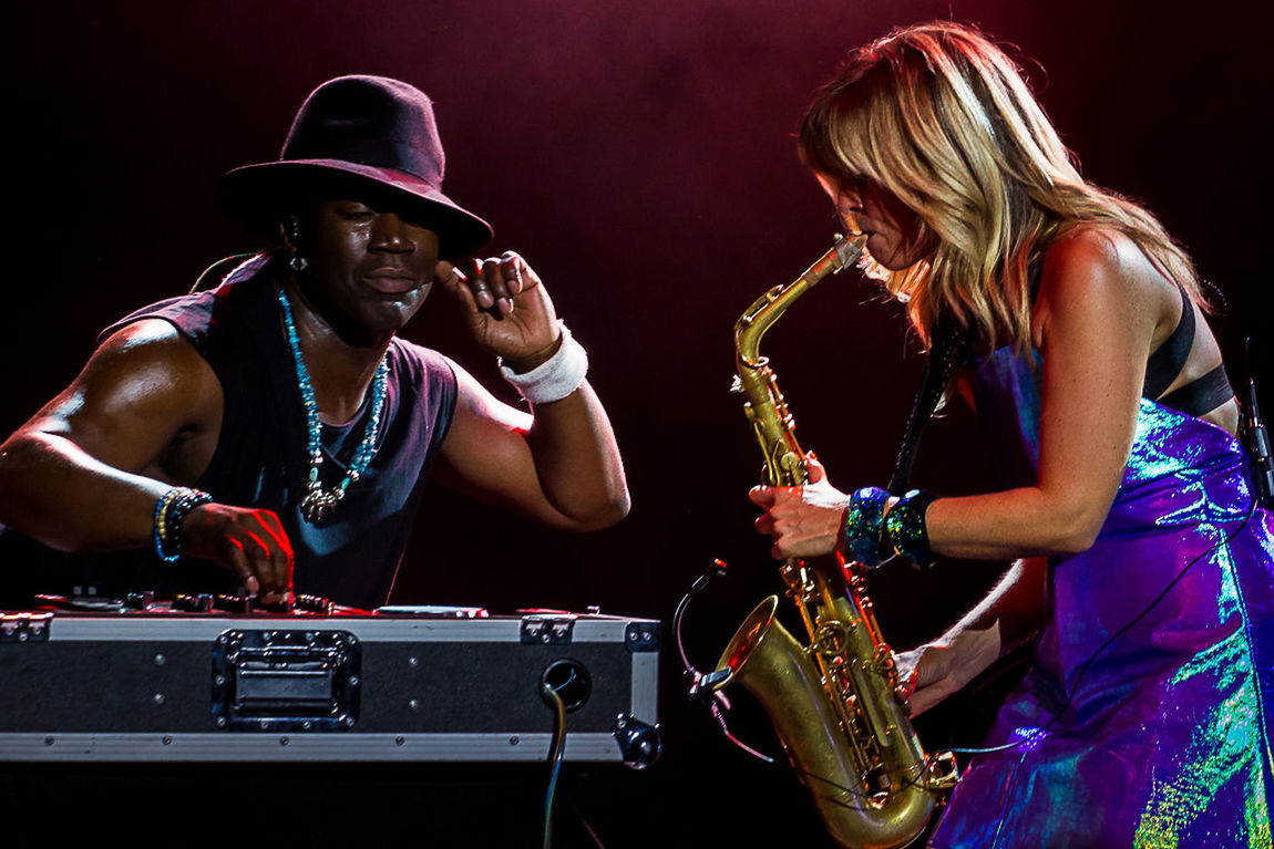 Candy Dulfer - Ladies Jazz Festival 2015 Gdynia, 31.07.2015 Arts Culture And Entertainment Candy Dulfer Concert Concert Photography Jazz Concert Lifestyles Music Music Performance Saxophonist