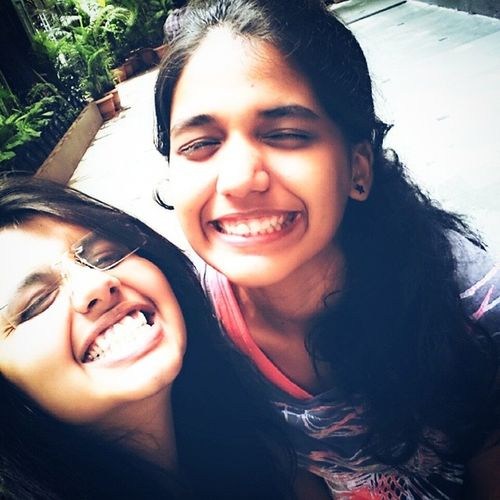 even when we are grinning like idiots we manage to look cute !! Bro Loveher WeAreAFamily Raj_k_chashme humare toothpaste me namak hai collegetp bestfriendsforlife mana o_heeriye