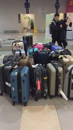 International Airport EyeEmNewHere EyEmNewHere Eyeem Market Eyem Market Borneo Sabah Not Collected Baggage Unclaimed Passenger Arrival Hall Asian Man Travel Suitcase Luggage Technology Travel Destinations Airport EyeEm Ready