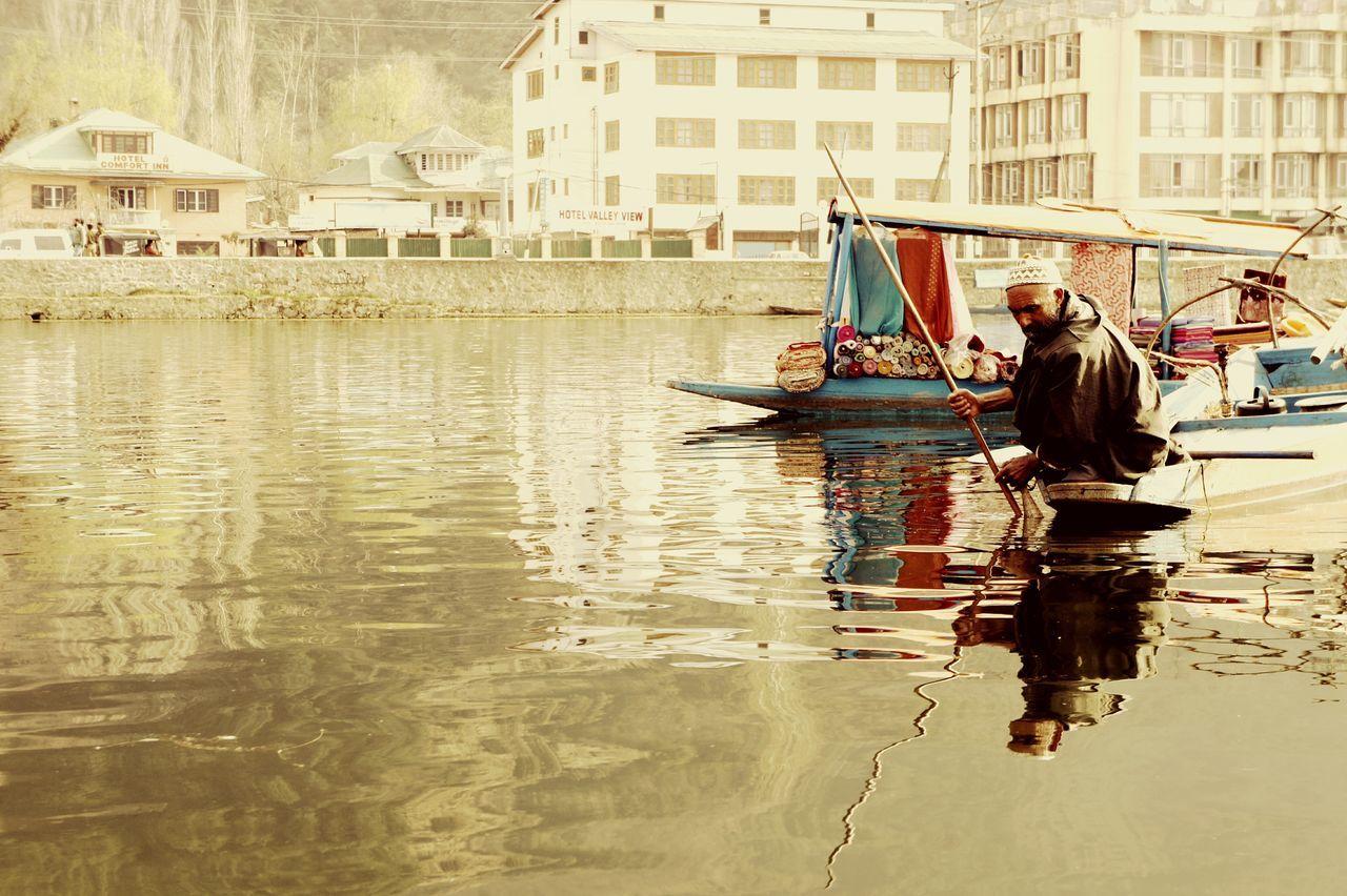 Capturing Freedom People Photography Light And Shadow Water Reflections EyeEm Best Edits EyeEm Best Shots Street Photography Srinagar Kashmir India