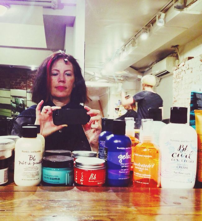 New Hair Color At The Salon Hair Products SelfieInMirror