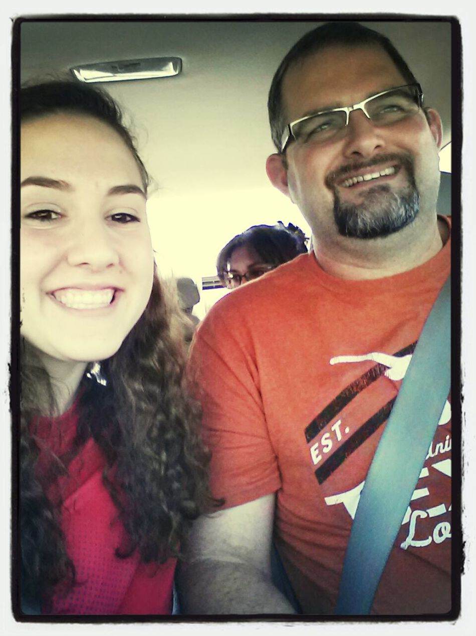 On the road :) love my daddy <333 First Eyeem Photo