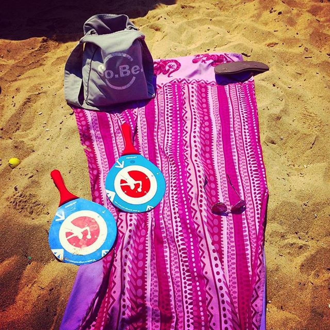 Sport Mare Spiaggia Vacanze Sole Grecia Sabbia Skiathos Asciugamano Racchette