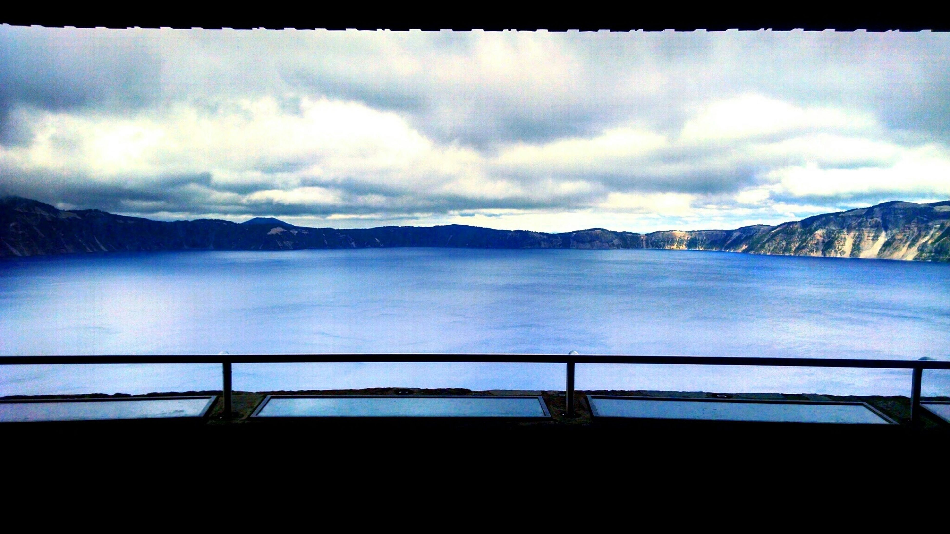 Crater Lake Lookout Crater Lake Crater Lake Blue Water Deepblue Clouds Oregonexplored First Eyeem Photo The Great Outdoors - 2016 EyeEm Awards The Great Outdoors With Adobe LaskaBoha_Photography