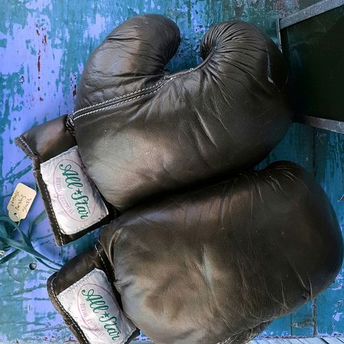 Indoors  Close-up No People Day Streets Of Sydney Newtown NSW Navy Blue Blue Boxing Gloves gloves