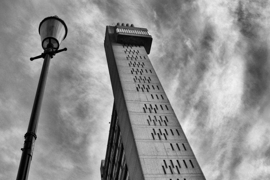 Trellik Tower Architectural Detail Architectural Feature Architecture Architecture_bw Architecture_collection Architecturelovers Black And White Black And White Collection  Black And White Photography Blackandwhite Building Building Exterior Cloud - Sky Clouds And Sky Minimalist Architecture Monochrome Monochrome Photography Sky Sky And Clouds Skyporn Trellick Tower The Architect - 2017 EyeEm Awards