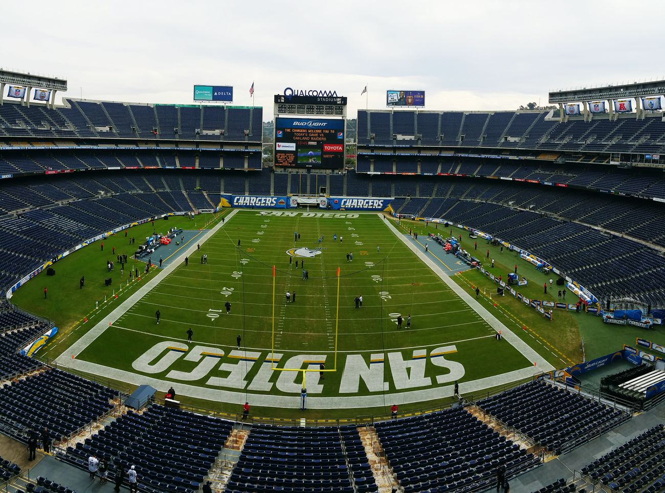 Qualcomm Stadium SanDiegoChargers Chargernation Boltup Footballislife Football Stadium