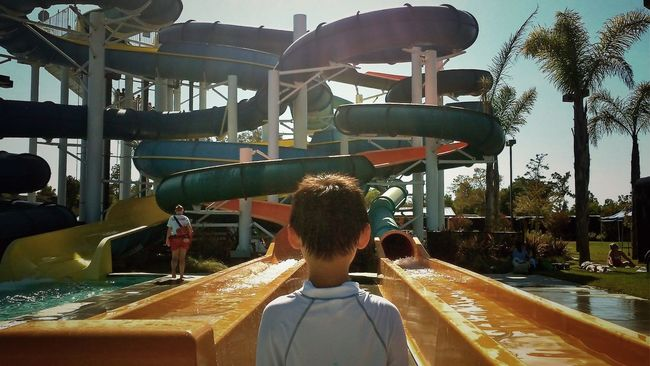 Holiday POV Water Slides Faces Of Summer