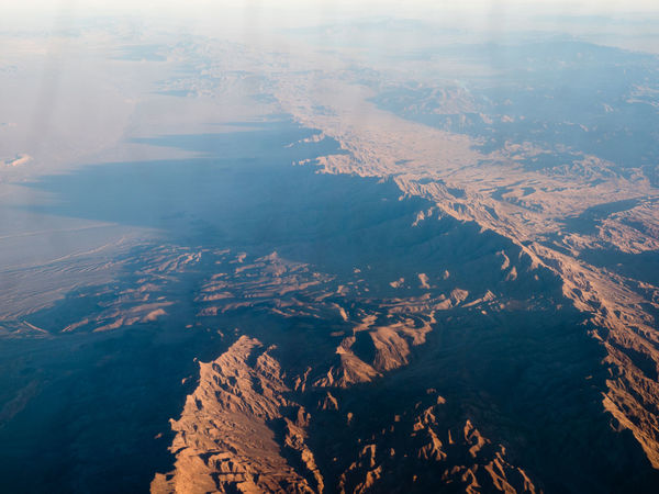 Desert Long Shadows Mountain Range Background Aerial View Aircraft Evening Flying Landscape Mountain Mountain Range Nevada Scenics Tranquil Scene Tranquility