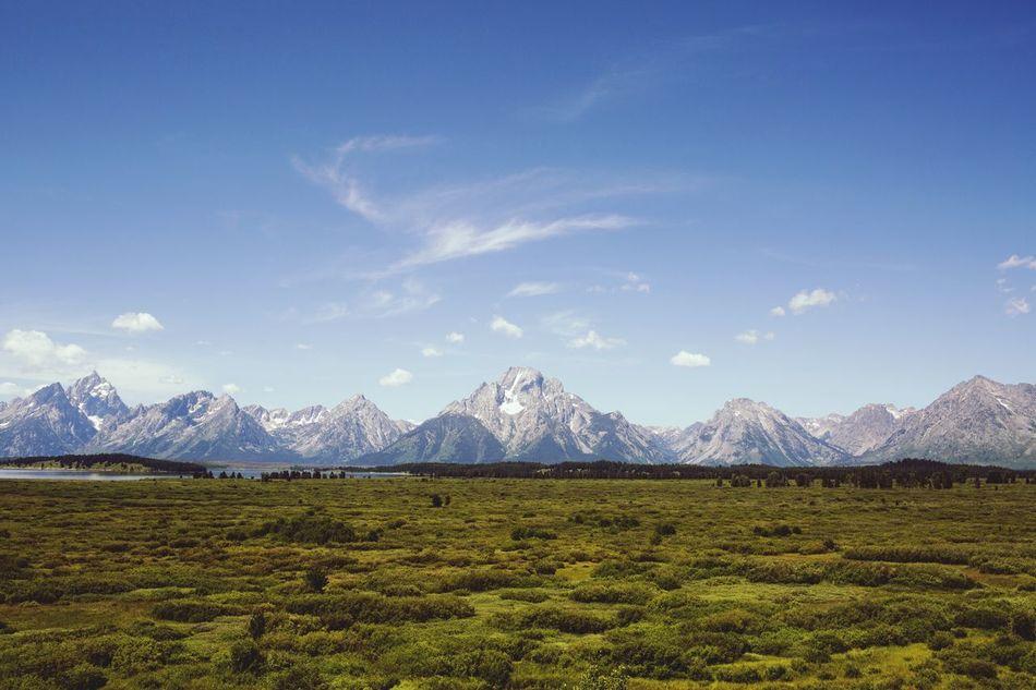 Grand Tetons Grandtetons Grandtetonnationalpark Mountains Wyoming Wanderlust Wandering CampLife Camp