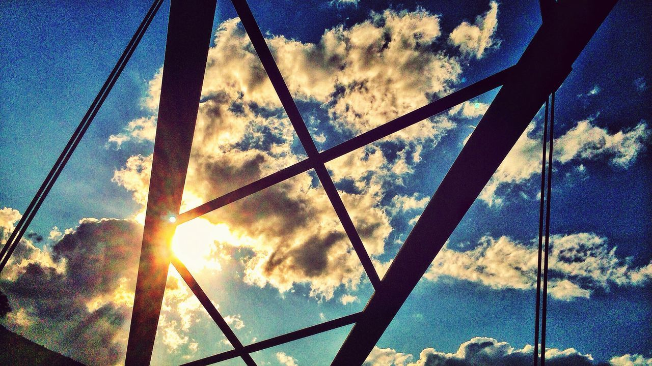 A Frame Within A Frame Architecture Clouds And Sky Eye4photography
