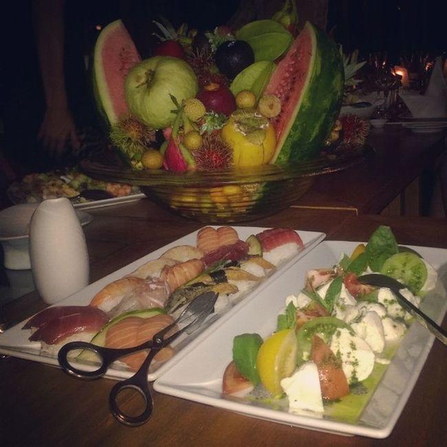Десятая часть моего ужина ? Dinner Delisious Maldiwes Cooltime awesome food