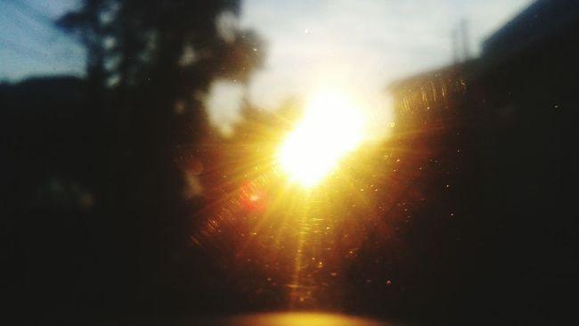 Sol Sol No Vidro Relaxing Hello World Sol Brilhante Calor!!! Abstract