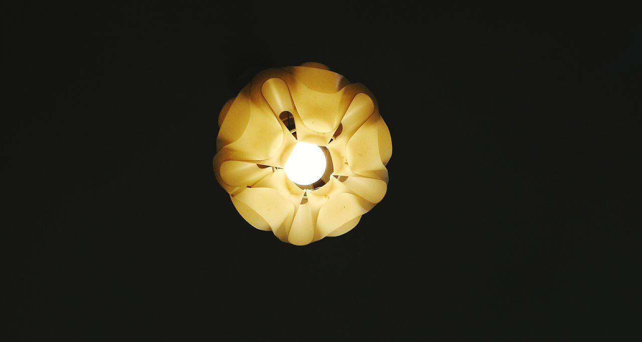 Lighting Equipment Yellow No People Low Angle View Illuminated Black Background Electricity  Light Bulb Close-up Indoors  Night Huaweiphotography P9LitePhilippines