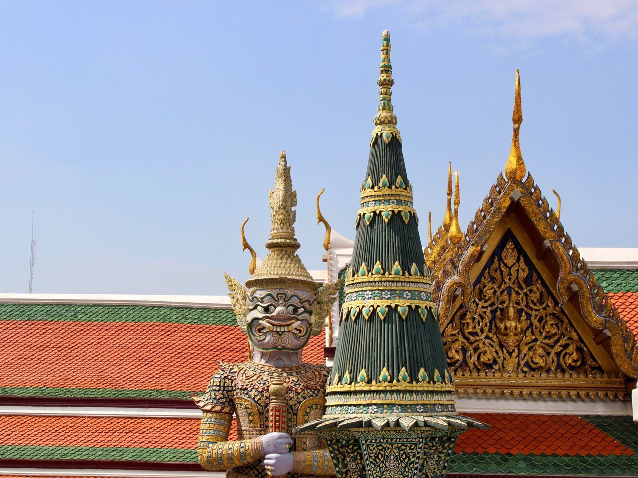 First Eyeem Photo Grand Palace Bangkok Thailand Architecture Place Of Worship Thailand Statue