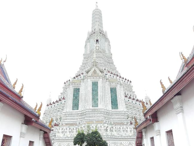 Architecture Built Structure Building Exterior Travel Destinations No People Low Angle View Day Outdoors Tree Sky Watarunbangkok Watarun Thailand🇹🇭