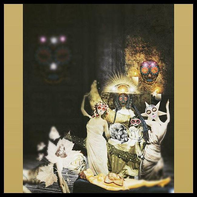 Collage Digitalart  Mementomori Diadelosmuertos Sugarskulls Victorian Darkart Death Conceptualphotoedits Conceptualart Digitaledit Editjunkie Photomanipulation