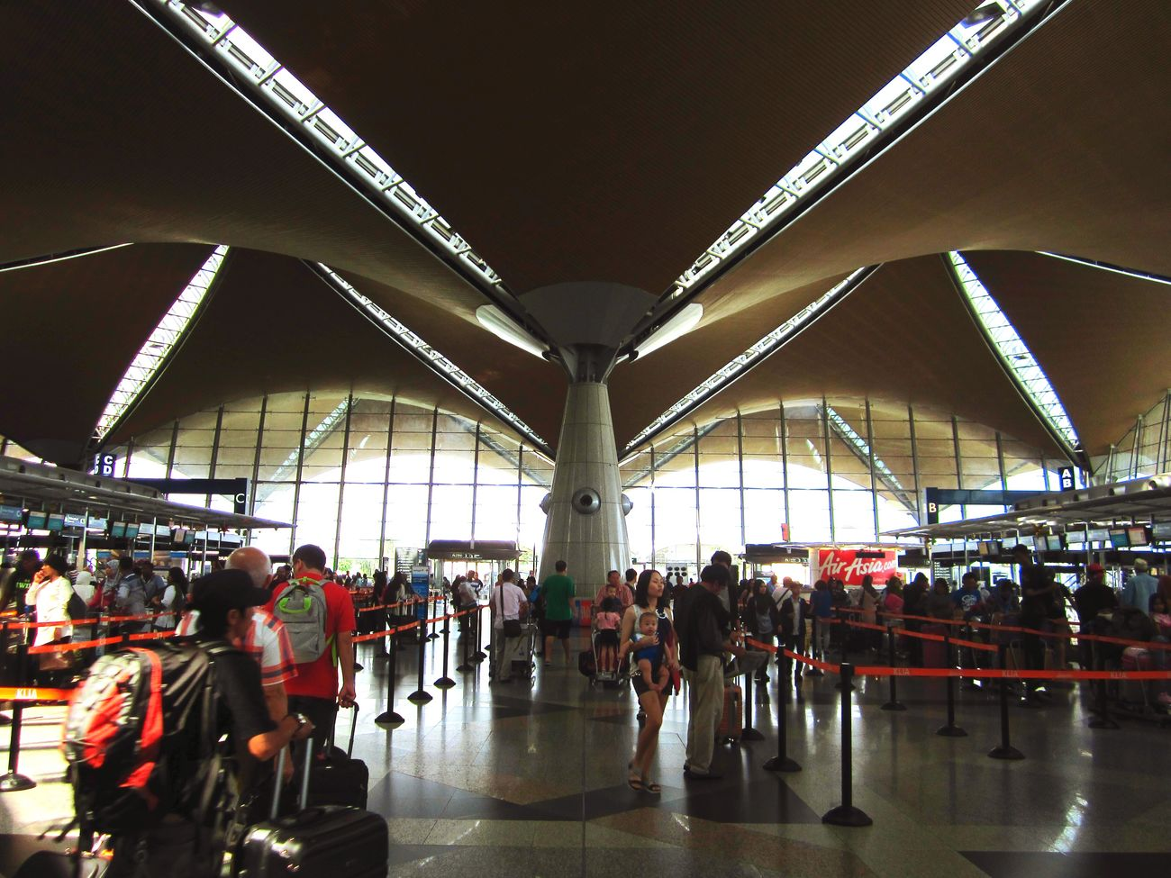 Airport Design Architecture Klia Sepang Travelling Adventure