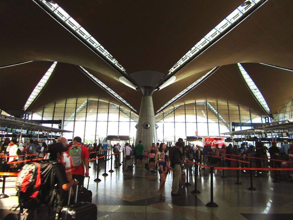 Airport Design Architecture Klia Sepang Travelling Adventure