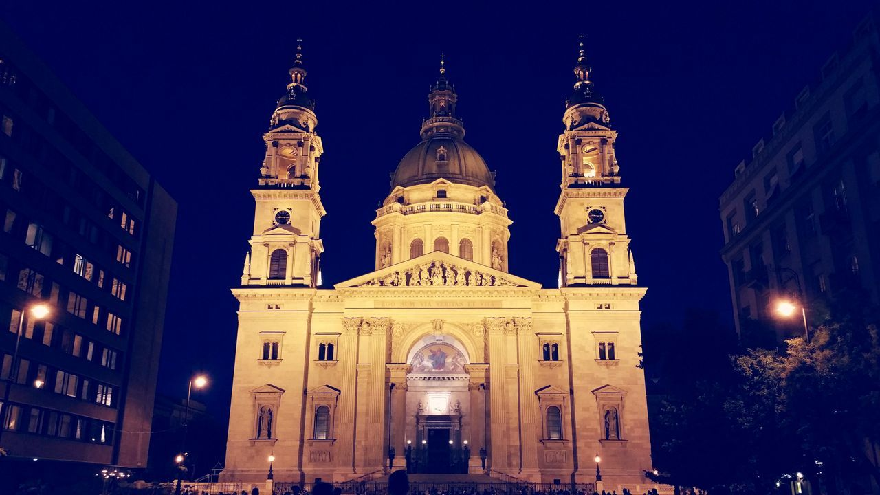 Night Architecture Illuminated Façade Built Structure Travel Destinations Dome Building Exterior Architectural Feature Full Length EyeEmNewHere City Street City Life Streetphotography Budapest Streetphotography Architecture_collection Architecture Architecture By Night Budapest, Hungary Budapest Street Photography Church Architecture Cathedral Saint Stephan Cathedral Neon Life Your Ticket To Europe