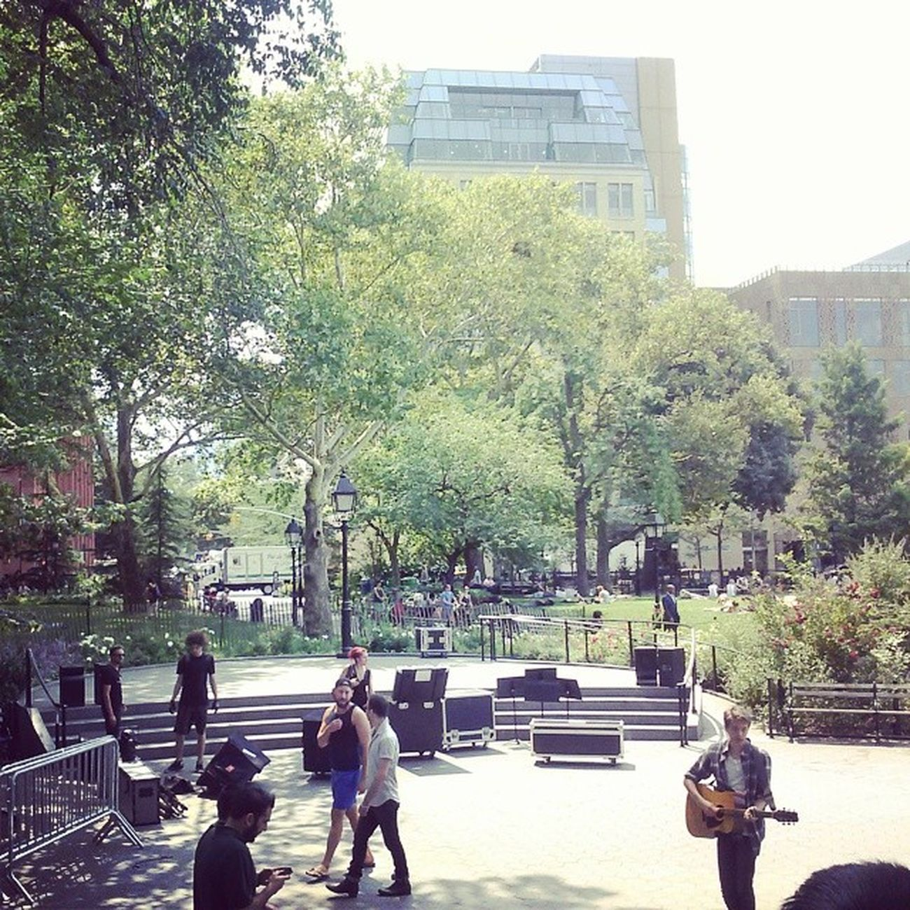 Newyork Manhattan Thepark Mothernature