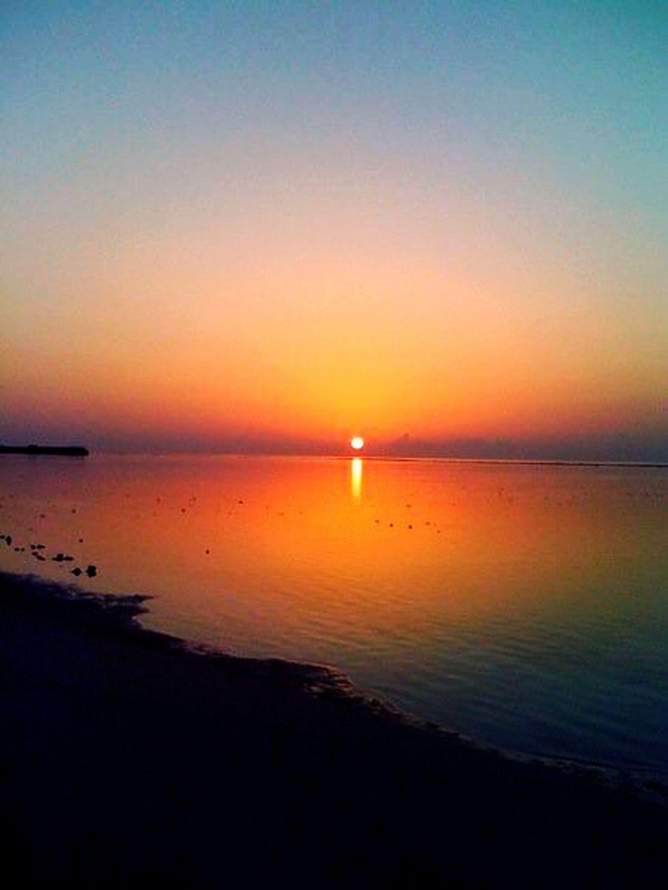 Sun rise at Maldives .. Sun Rise