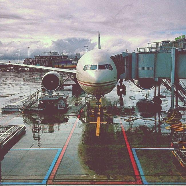 Etihad B777-300ER at Dublin Airport last month..... Was Gona fly with them this week, to bad Etihad Etihadairways B77W Dublinairport July abudhabi plane aviation boeing green dublin