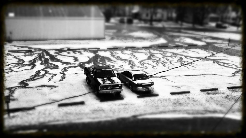 Aftermath Hail Storm Black & White Shades Of Grey