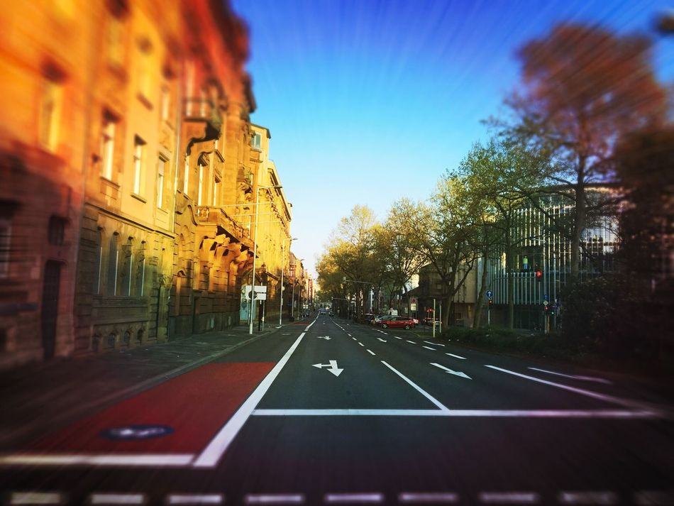Mannheim can be so beautiful 😍 Mannheim Mannheimisbeautiful No People Road City Sky CarFree Mannheimgram Mannheim ❤ Sun Street City