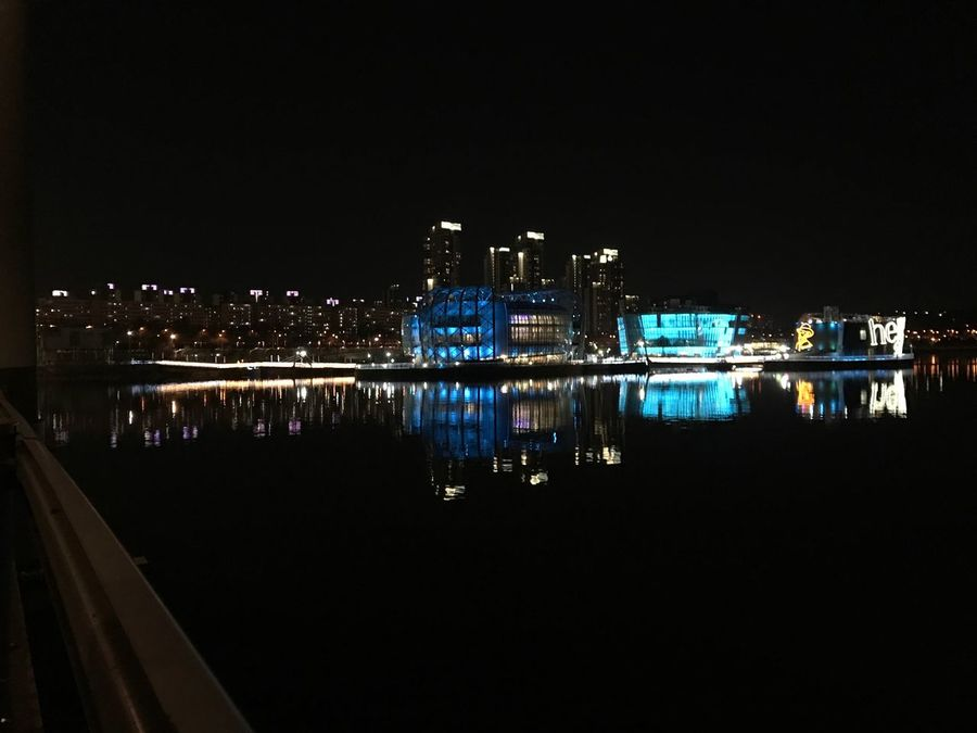 Iphonephotography Seviit Artificial Island pictured as a Science Lab in the movie Avengers2 Hanriver SeoulKorea